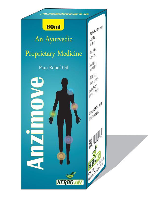 Anzimove - herbal ayurvedic syrup